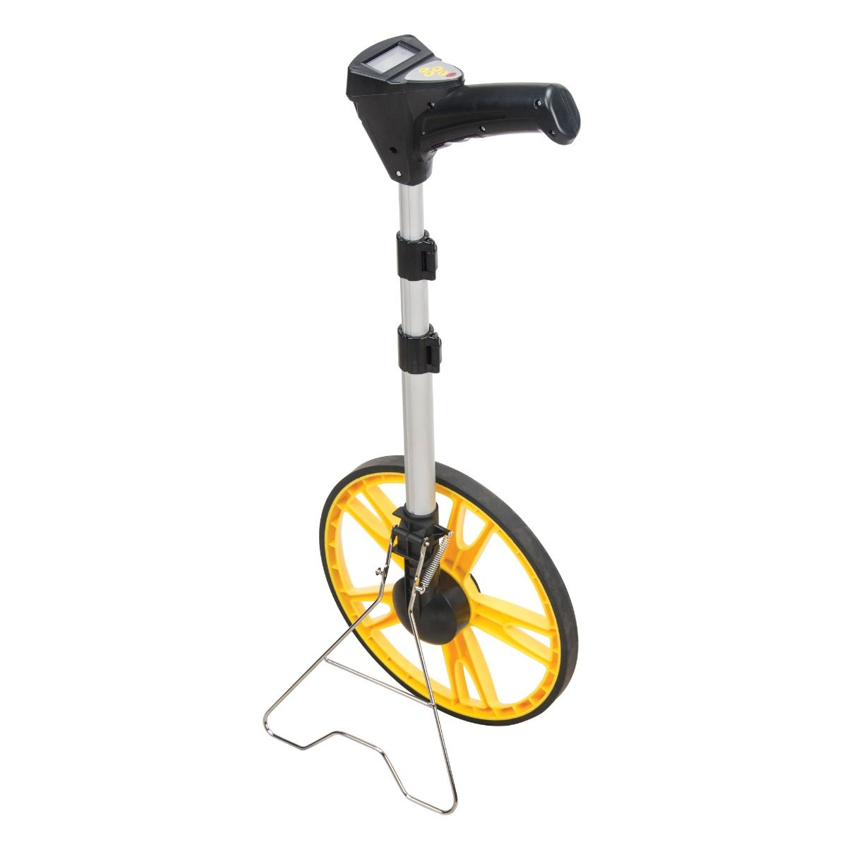 Measuring wheel - Large wheel model ensures accuracy and is ideal for uneven terrain