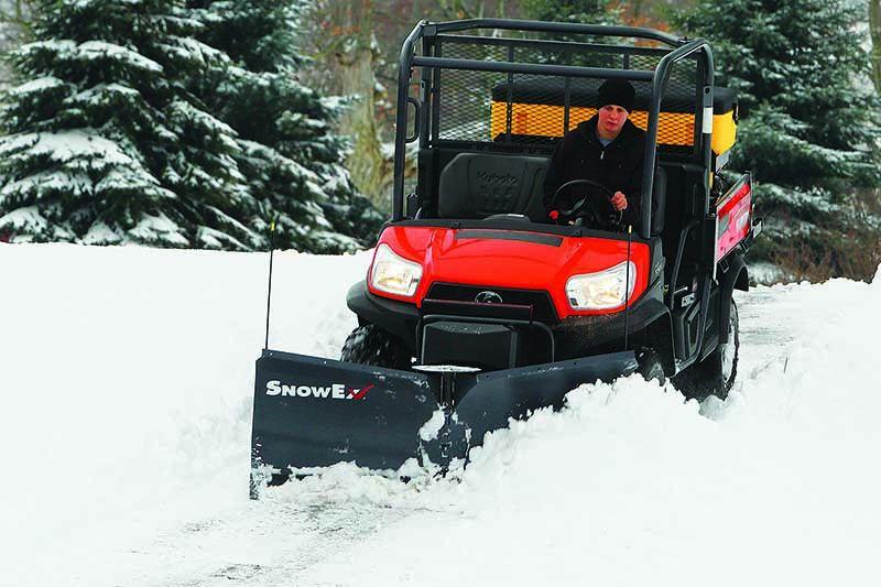 SnowEx UTV V-Plow