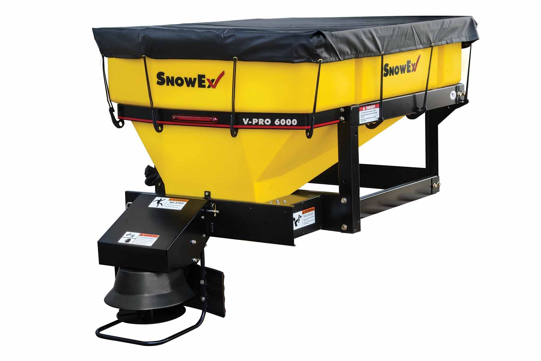SnowEx Vee Pro 1.00 cu.yd. In-Bed Spreader with Step Frame SP-6000