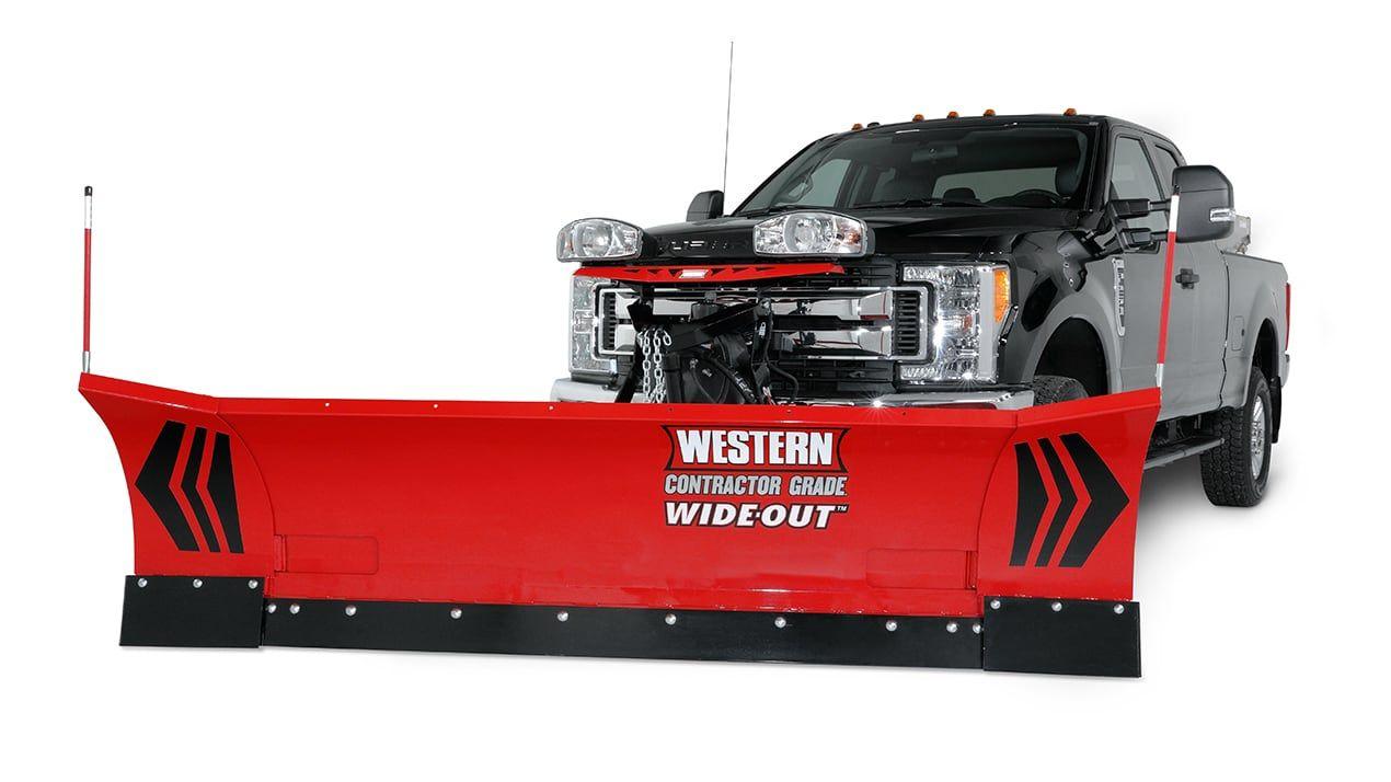 Western WideOut 8'-10' Handheld Plow
