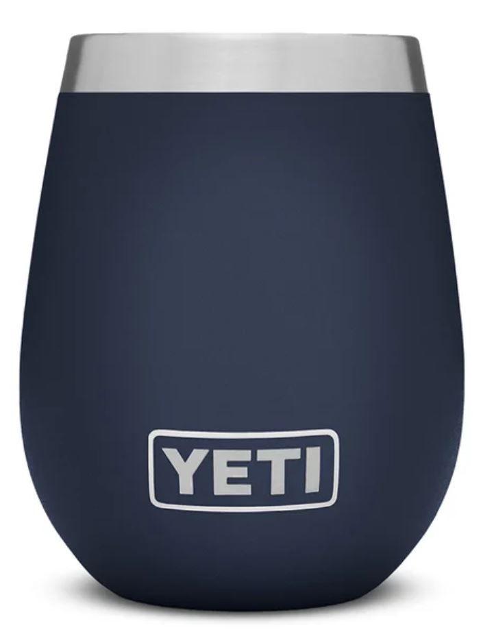 Navy YETI Rambler 10oz Wine Tumbler