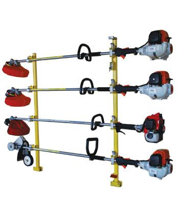 Xtreme series 4 place trimmer rack by Green Touch XC104