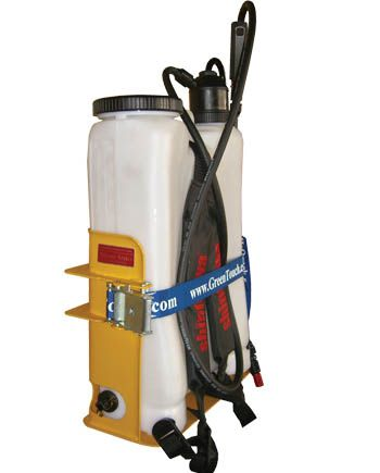 Green touch XF107 backpack sprayer rack