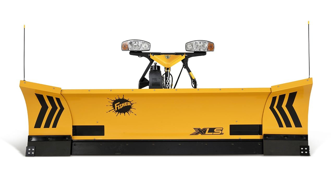 Fisher 8'-10' XLS Expandable Length Plow