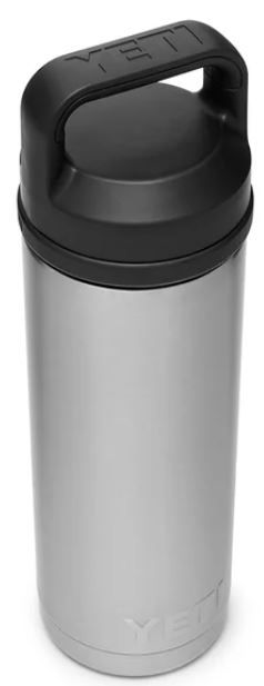 YETI Rambler 18oz Bottle with Chug Cap in Stainless