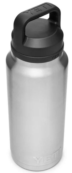 YETI Rambler 36oz Bottle with Chug Cap in Stainless