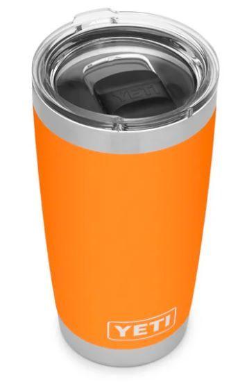 YETI Rambler 20oz Tumbler in King Crab Orange style # 70000000818