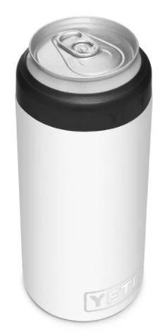 YETI Can Insulator Slim Colster 12oz-White