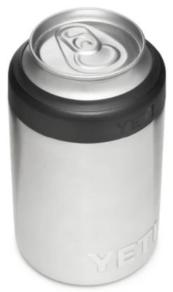 YETI Can Insulator Small Colster 12oz-Stainless