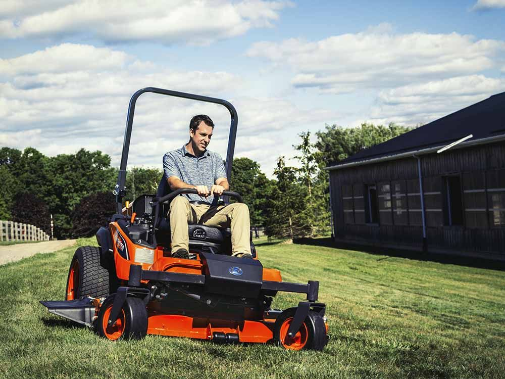 Kubota ZD1511RLF-60 Commercial 25 HP Diesel Zero-Turn Mower