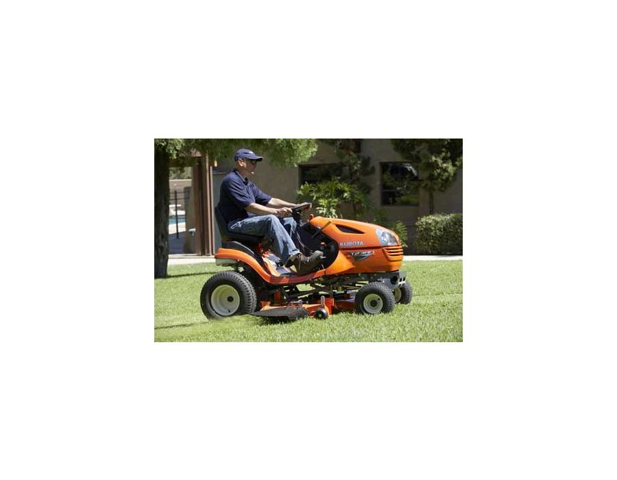 The T-Series' cruise control feature allows you to maintain a constant mowing speed once you have reached the desired speed.