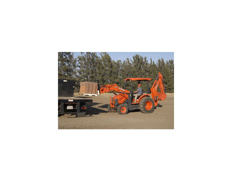 Kubota M Series Tractor-Loader-Backhoe M59TLB 59hp | Lawn