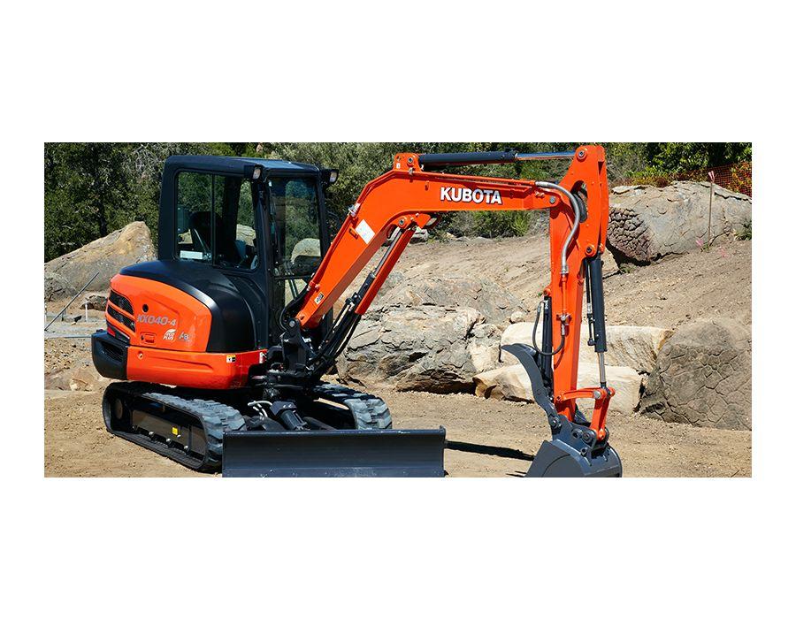 Kubota KX040-4G Excavator Four-Ton | Lawn Equipment | Snow