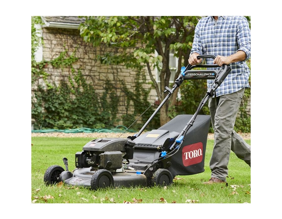 The Toro 21382 has FLEX Handle™ suspension allowing you to glide over bumps with ease!
