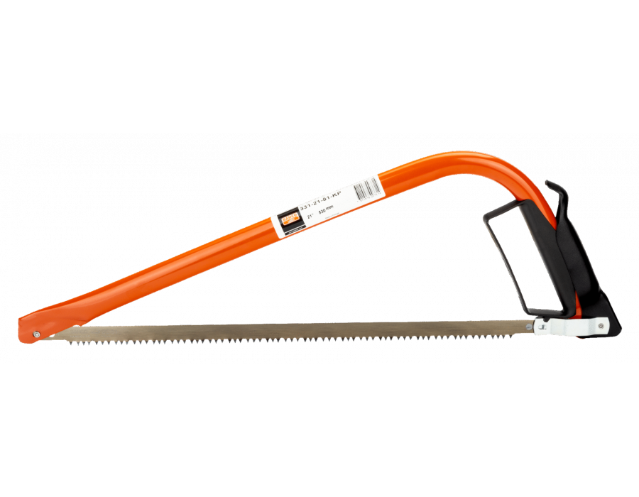 The pointed nose makes this saw ideal for use in tight spaces and well-suited to pruning