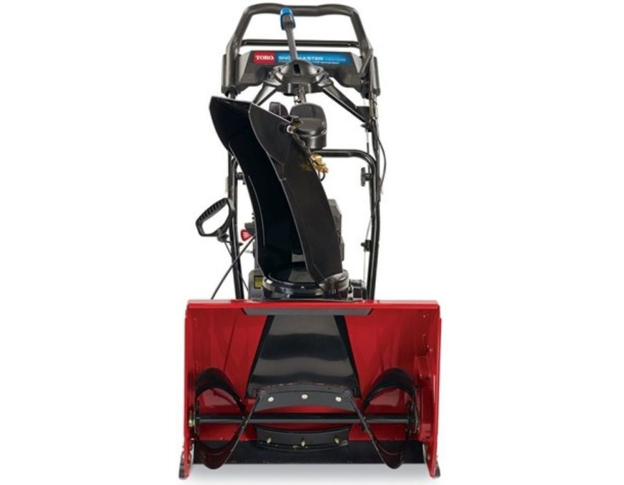 Tear through the roughest snow and ice in record time with Toro's powerful engineered auger. A tall auger housing and Guaranteed For Life chute handles even end of driveway snow with ease.