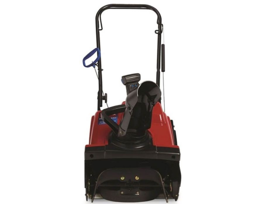 Easily clear 18 in. wide with 12 in. snow cut depth. Cut through compacted snow and ice with the 7 in. auger diameter and blow snow up to 25 ft.