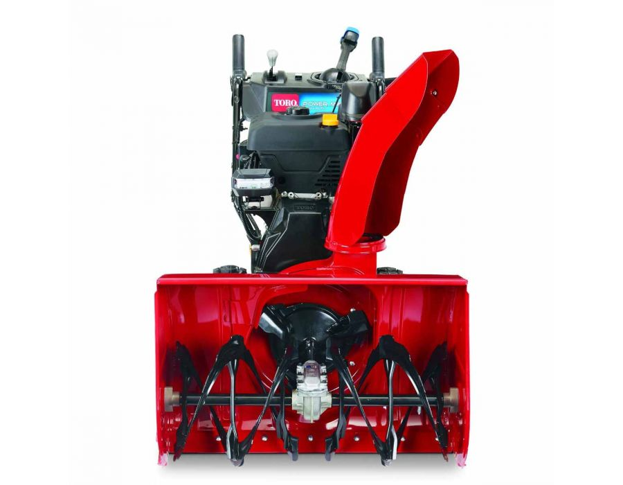 Stay the Course Minimizes clogging and routes heavy snow away from chute and back into the auger with Toro's patented Anti-Clogging System.