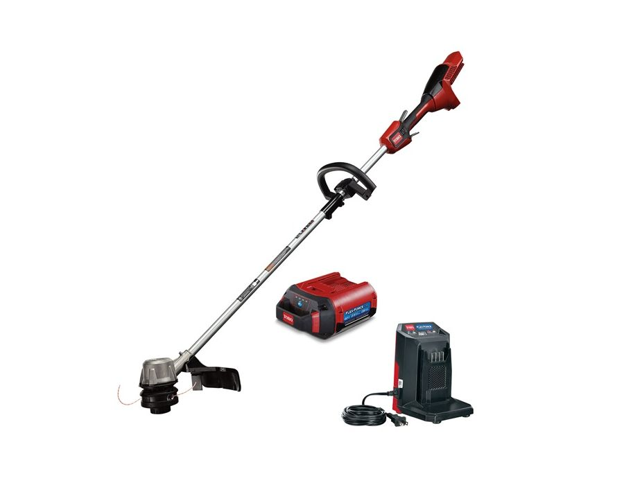 Toro 51830 Line Trimmer60V MAX Battery Flex-Force® Full Package with Battery and Charger
