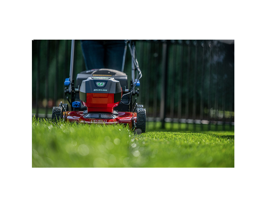 The ultra-fine clippings created by our Recycler Cutting System are Lawn Vitamins™, nourishing your grass and cultivating a greener, more lush lawn.