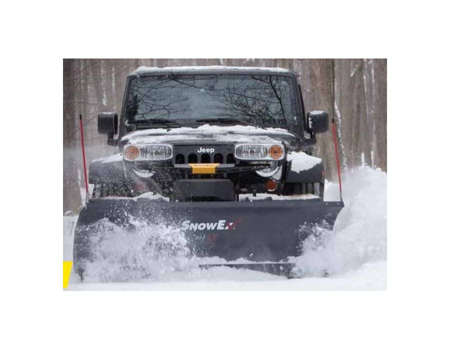"SnowEx 7200LT 7'2"" Light Duty Straight Blade Plow"