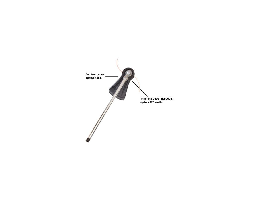 ECHO Trimmer Attachment with semi-auto line head 999442-00540