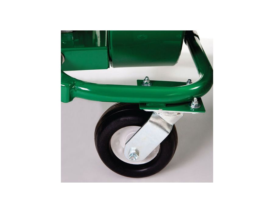 Front Casters - Simple maneuverability in tight areas