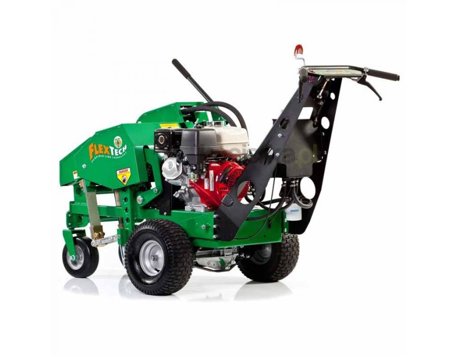 Self-Propelled, Variable Speed - Intuitive hydro-drive controls allow you to feather the speed and aerate in both forward and reverse with finger tip control. Reduces fatigue and vibration.