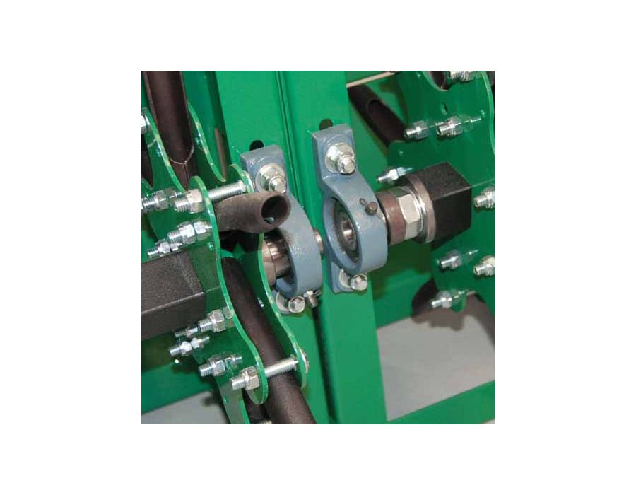 Pillow Block Bearings - With grease zerks reduce wear and downtime for maintenance