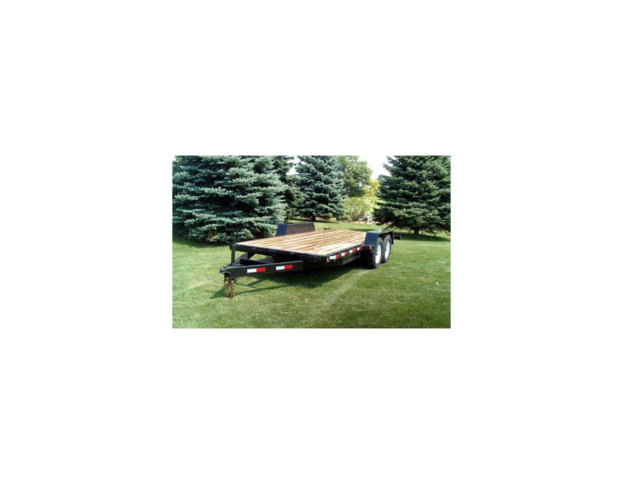 "JDJ All Purpose Tandem Trailer (6'8"" W x 16' L) Model AP 12000 8016"