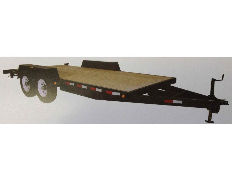 AP 12000 8012 Tandem All Purpose Trailer
