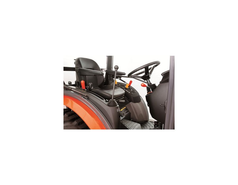 The loader lever is integrated with the lever console so i