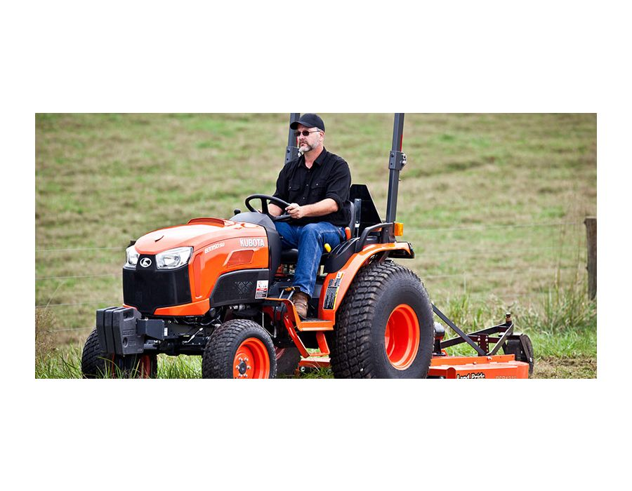Equipped with a 33 hp diesel liquid cooled E-TVCS (vortex combustion system) engine delivers increased power and high torque for all the tractor strength you need