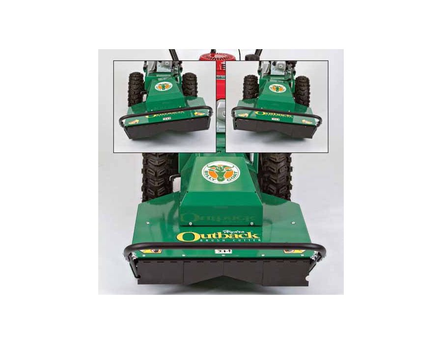 """Pivoting Deck- ± 12 degree pivoting deck with proprietary return to neutral is engineered to glide over uneven terrain. 26"""" wide deck with higher tip speed for improved speed and cut quality."""