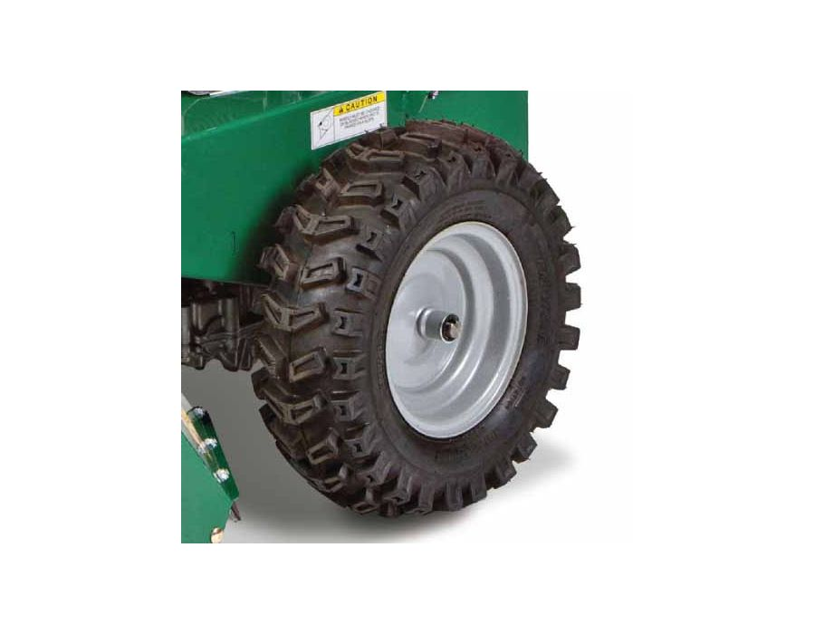 Wider Tractor Tires - For better grabbing and pulling power