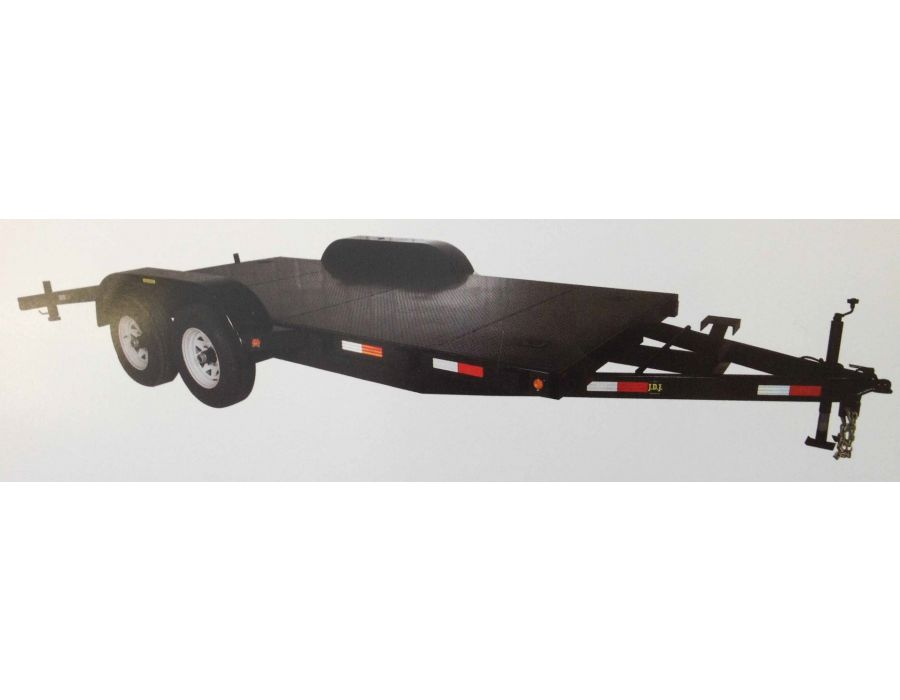 "JDJ Car Carrier Tandem Trailer (6'8"" W x 16' L) model CC 10400 8016"