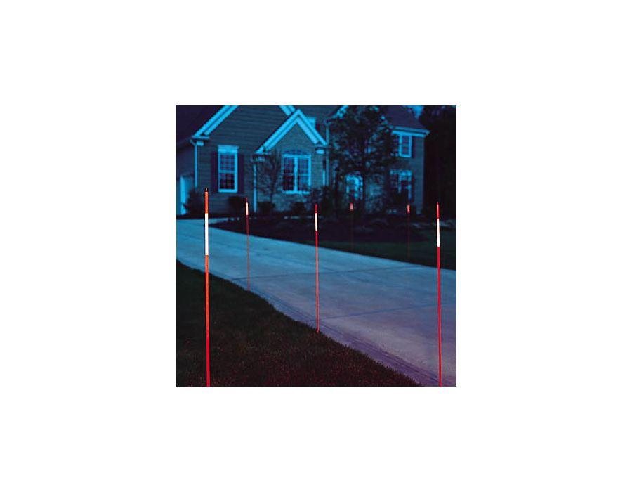 orange reflective driveway marker RE971