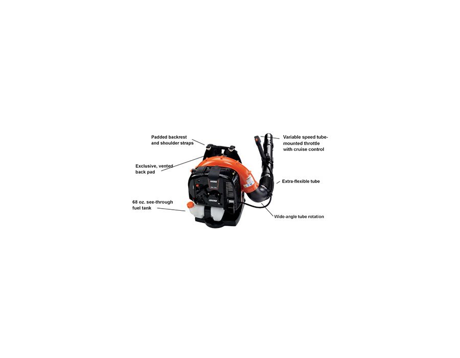 Diagram of the ECHO PB-770T Backpack Blower