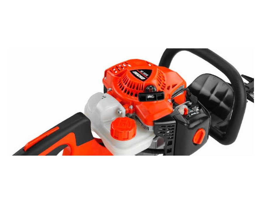 21.2 cc professional-grade, 2-stroke engine for outstanding performance