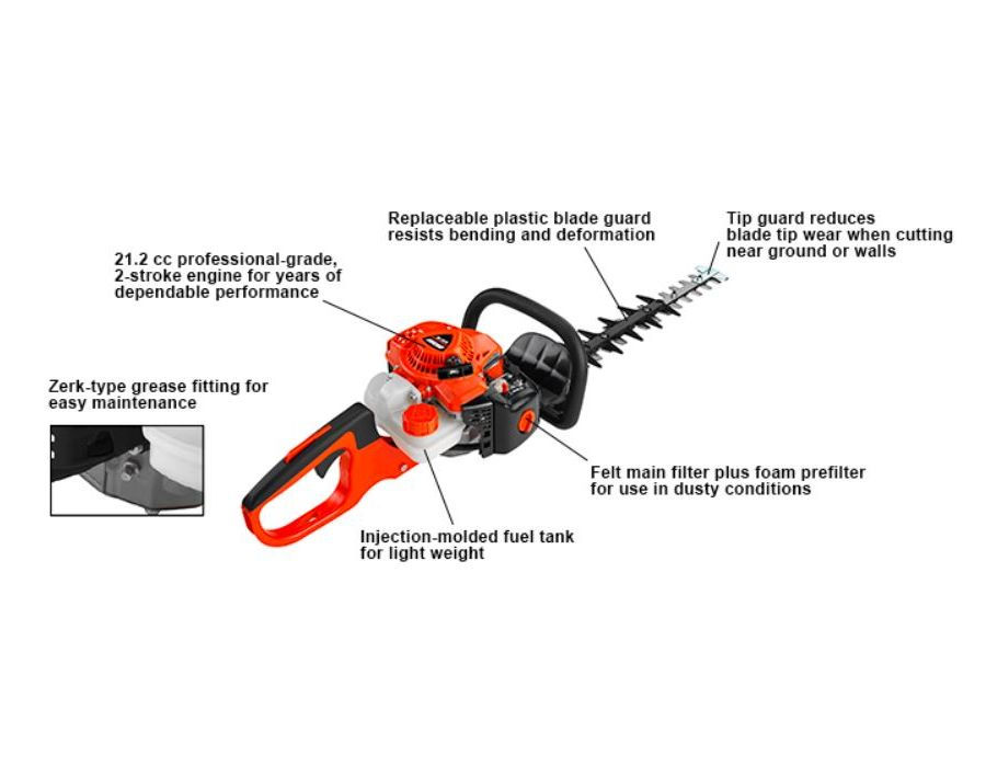 ECHO HC-2020 Hedge Trimmer with specifications