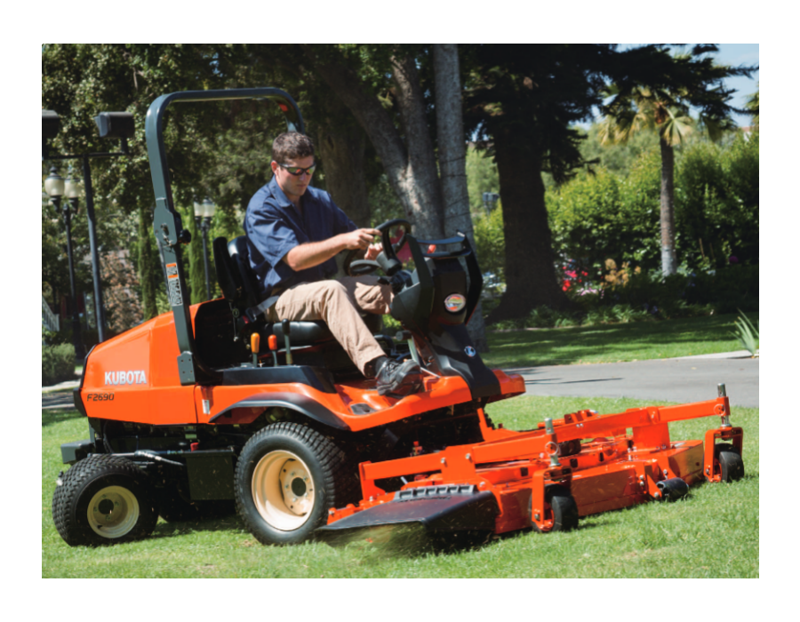Kubota F2690 4WD F Series Front-Mount Mower 25 5HP | Lawn Equipment