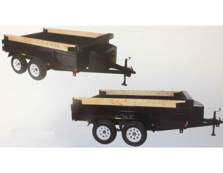 JDJ General Dump Tandem Trailer GD 510 (5' W x 10' L)