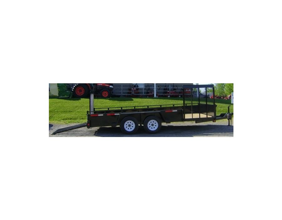 JDJ General Duty Landscape Tandem Trailer