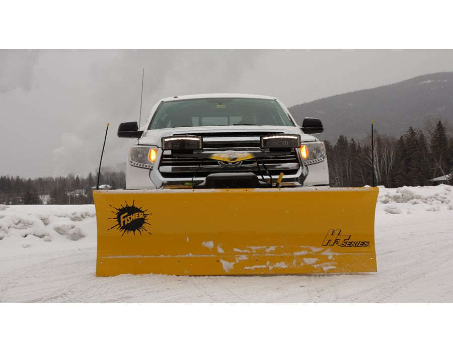 STORM GUARD™ Baked-On Powder Coat The industry's best protection against wear and rust, the STORM GUARD™ baked-on powder coat with epoxy primer is standard on all FISHER® snow plows.