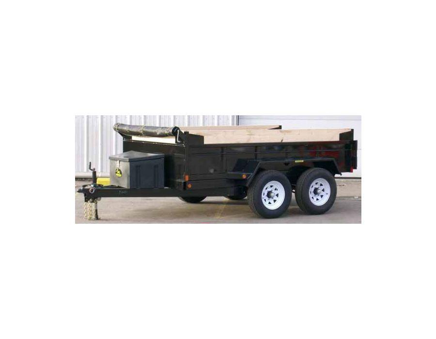 JDJ General Dump Tandem Trailer GD 610 (6' W x 10' L)