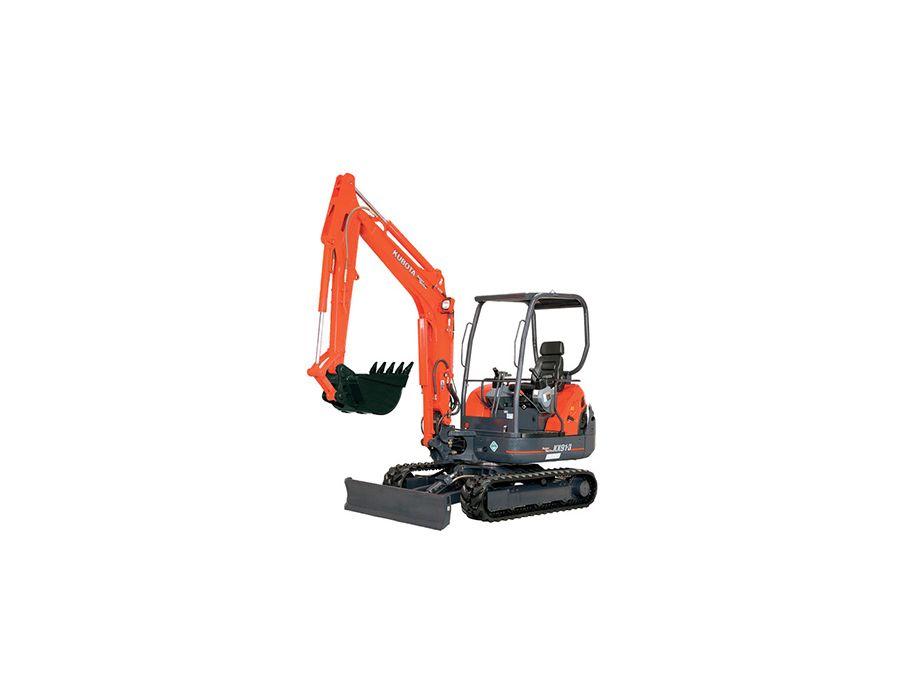 Kubota KX91-3GLS2 Cab Excavator 3.2 Ton