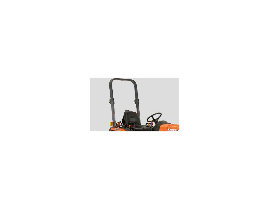For your safety, a fold-able ROPS is standard equipment
