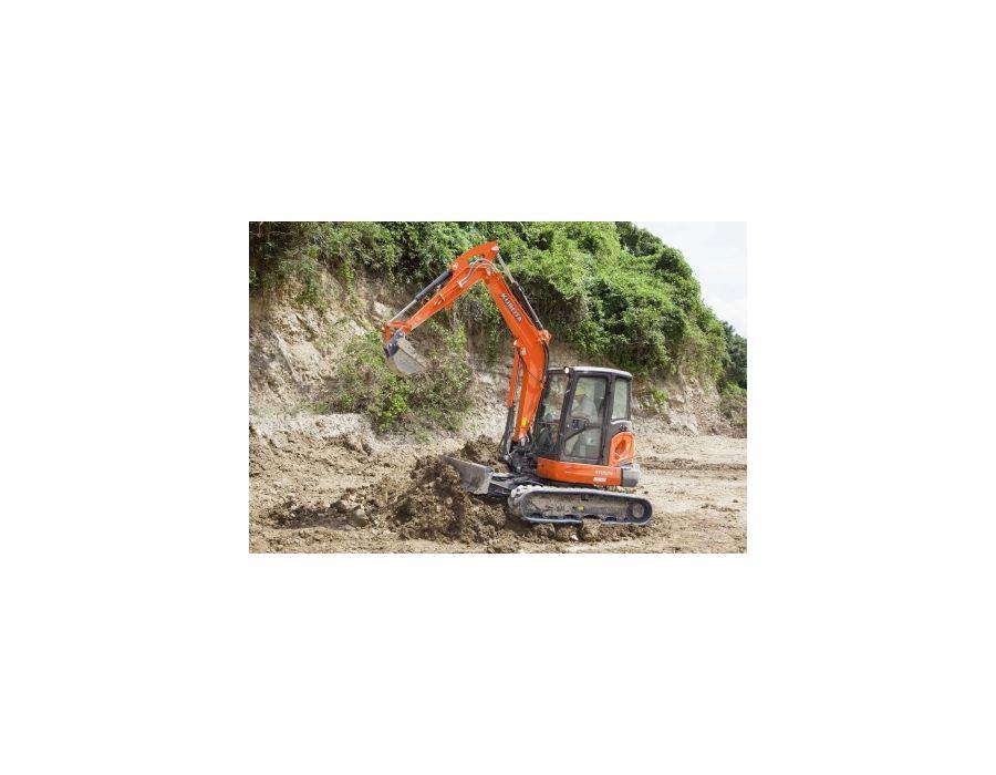 Kubota KX057-4W Excavator