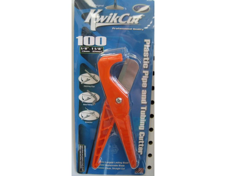 Kwikcut Plastic Pipe and Tubing Cutter
