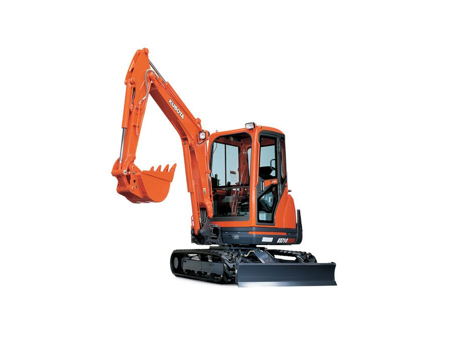 Kubota KX71-3HGLS Excavator